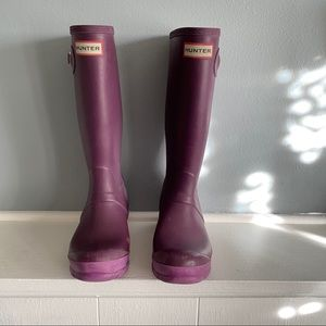 Big Kids Hunter Boots